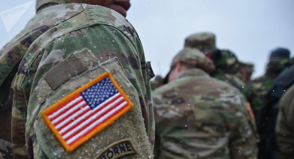 АҚШ армиясының әскери қызметкері