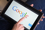 Логотип Google на планшете