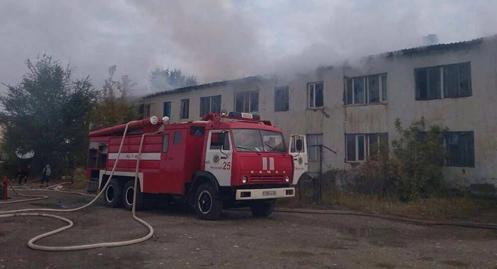 Пожар многоквартирного дома устранили вАлматинской области