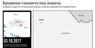Крушение самолета санавиации под Алматы