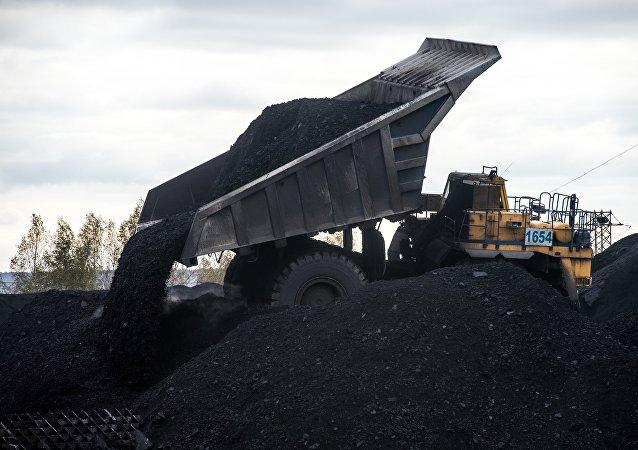 Угольный разрез Черниговский в Кемеровской области