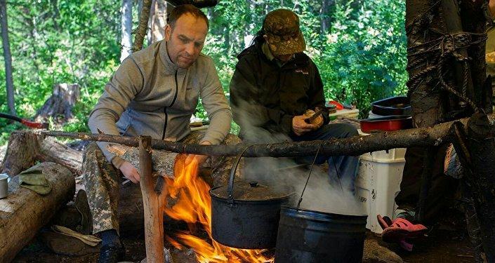 Александр Мороз побывал на перевале Дятлова