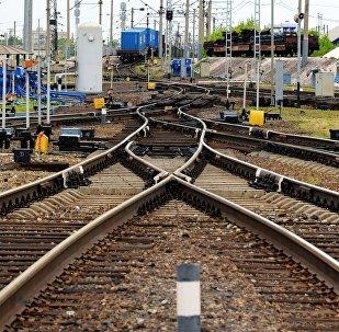 Железнодорожные пути, архивное фото
