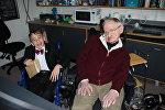 Юный казахстанский ученый встретился со Стивеном Хокингом