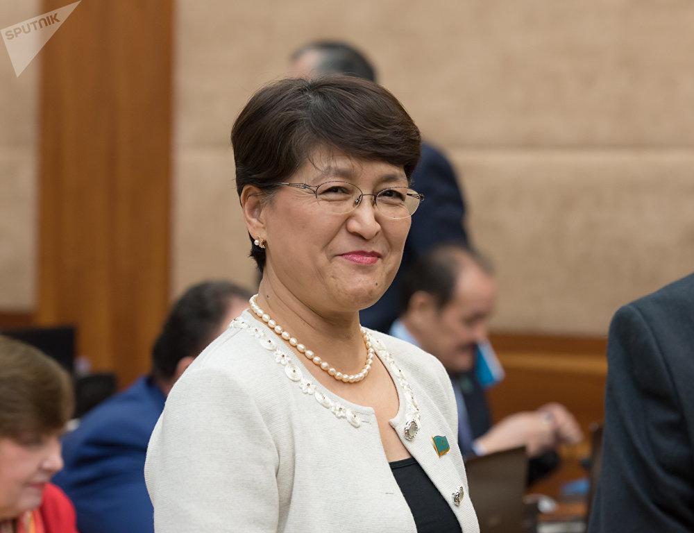 ҚР парламенті мәжілісінің депутаты Майра Айсина