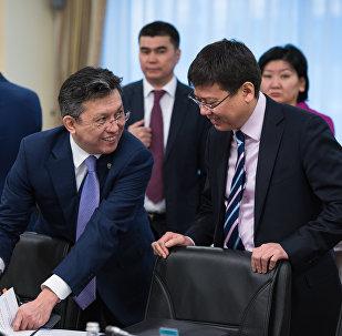 Бақыт Сұлтанов пен Марат Бекетаев