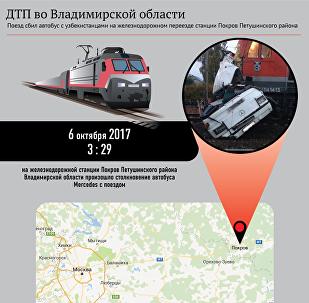 ДТП с участием автобуса из Казахстана во Владимирской области