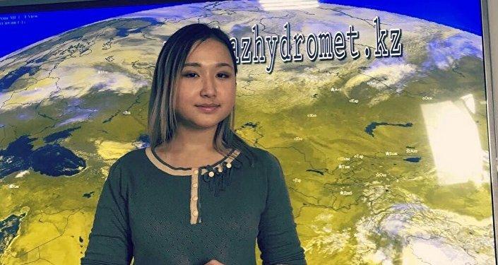 Инженер-синоптик РГП Казгидромет Сауле Смагулова