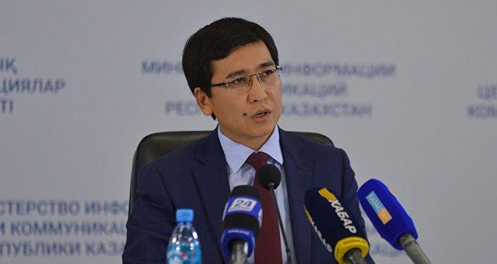 Вице-министр образования и науки РК Асхат Аймагамбетов