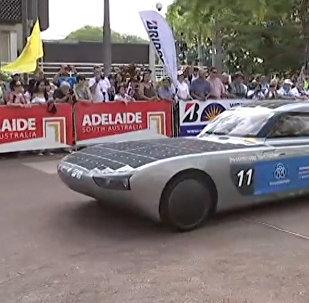 Гонки машин на солнечных батареях