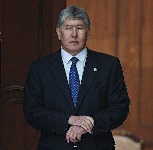 Қырғызстанның экс-президенті Алмазбек Атамбаев, архивтегі сурет