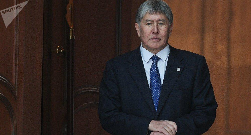 Атамбаев высказал сожаление ословах вадрес Назарбаева