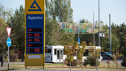 Цены на бензин в Астане