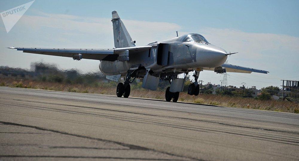 Бомбалаушы СУ-24 ұшағы