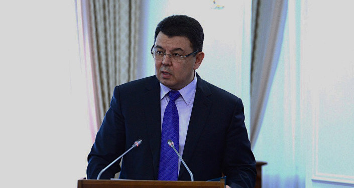 Энергетика министрі Қанат Бозымбаев