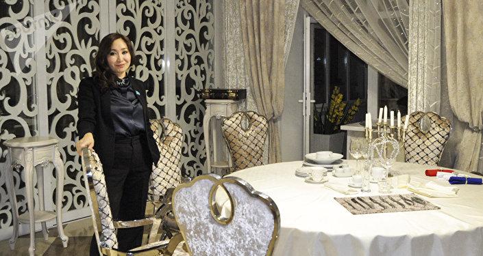 Директор института культурно-нравственного воспитания Казак Кызы Каракат Абден