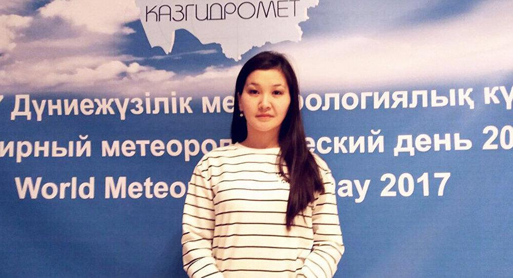 Қазгидромет инженер-синоптигі Мәдина Алтаева