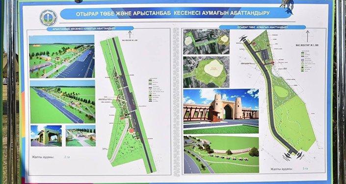 Проект музея под открытым небом в Южно-Казахстанской области