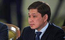 Қырғызстанның Премьер Министрі Сапар Исаков