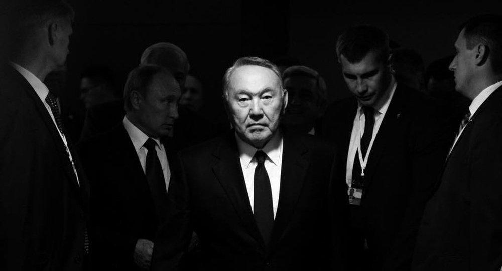 Президент Казахстана Нурсултан Назарбаев на саммите СНГ в Сочи