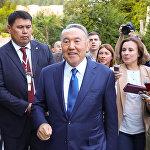 Нурсултан Назарбаев в Сочи после переговоров с Владимиром Путиным