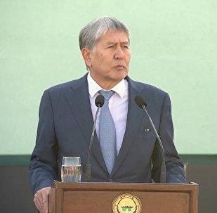 Қазақстанмен шекарада болған жағдайға қатысты Атамбаевтың пікірі