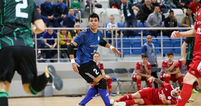 Игроки футзального клуба Кайрат