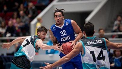 Баскетбольный матч Зенит — Астана