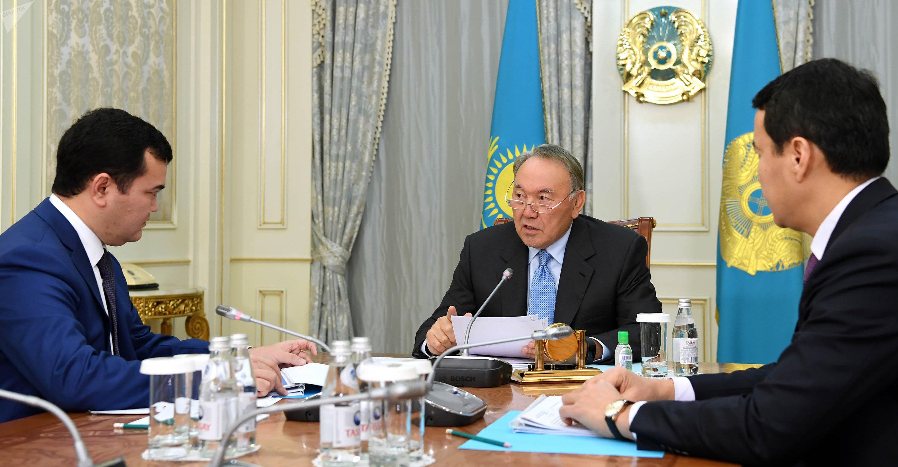 Встреча с министром по инвестициям и развитию Женисом Касымбеком
