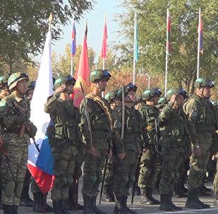 Боевое братство-2017: участники прошли торжественным маршем