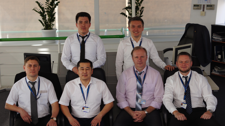 Сотрудники диспетчерского центра