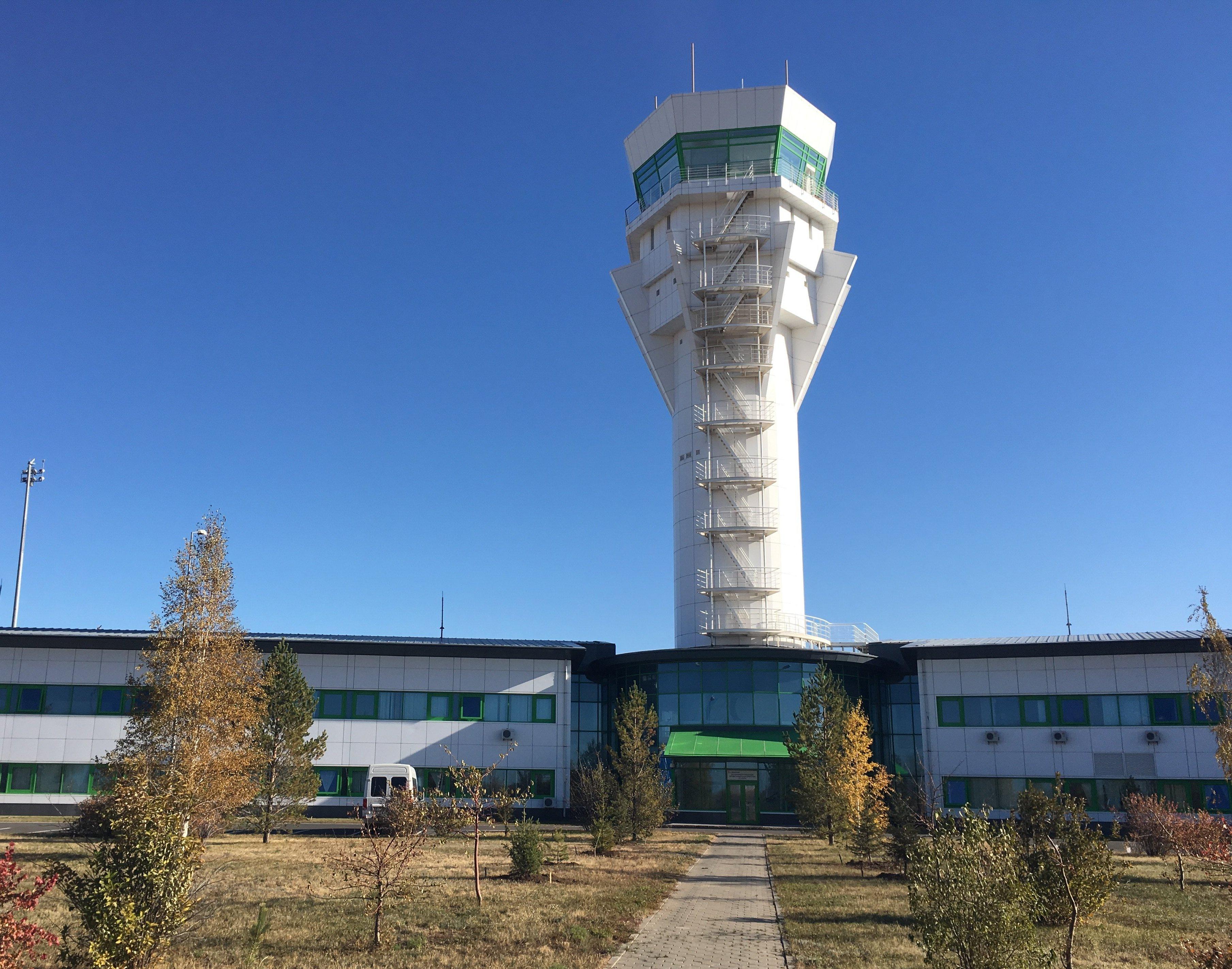 Аэродромный диспетчерский центр в Астане