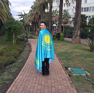 Дастан Аккожа - участник всемирного фестиваля молодежи и студентов-2017 в Сочи