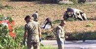 Видео с места взрыва автомобиля журналистки Дафны Каруаны Галиции