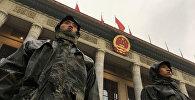 Военный в Китае, архивное фото