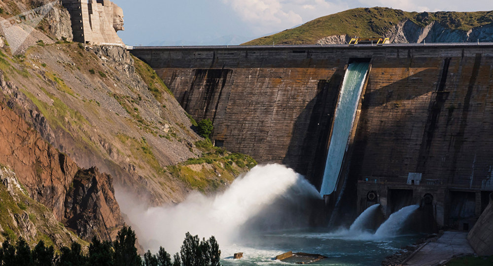 Водохранилище, архивное фото