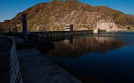 Кировское водохранилище в Таласской области Киргизии, архивное фото