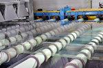 Работа завода по производству стекла Тракья Гласс Рус в Татарстане