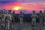 Военнослужащие Казахстана, архивное фото