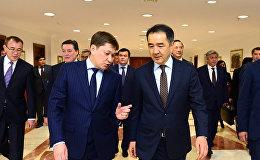 Бақытжан Сағынтаев пен Сапар Исаков