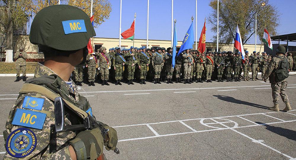 Совместные учения с миротворческим контингентом государств-участников ОДКБ Нерушимое братство-2017 вступили в активную фазу