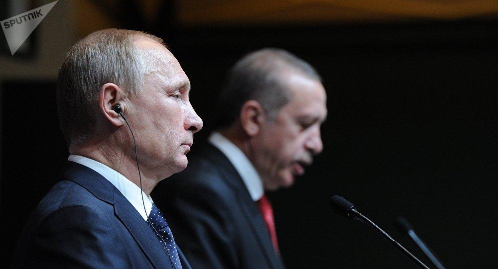 Владимир Путин мен Режеп Тайып Ердоған