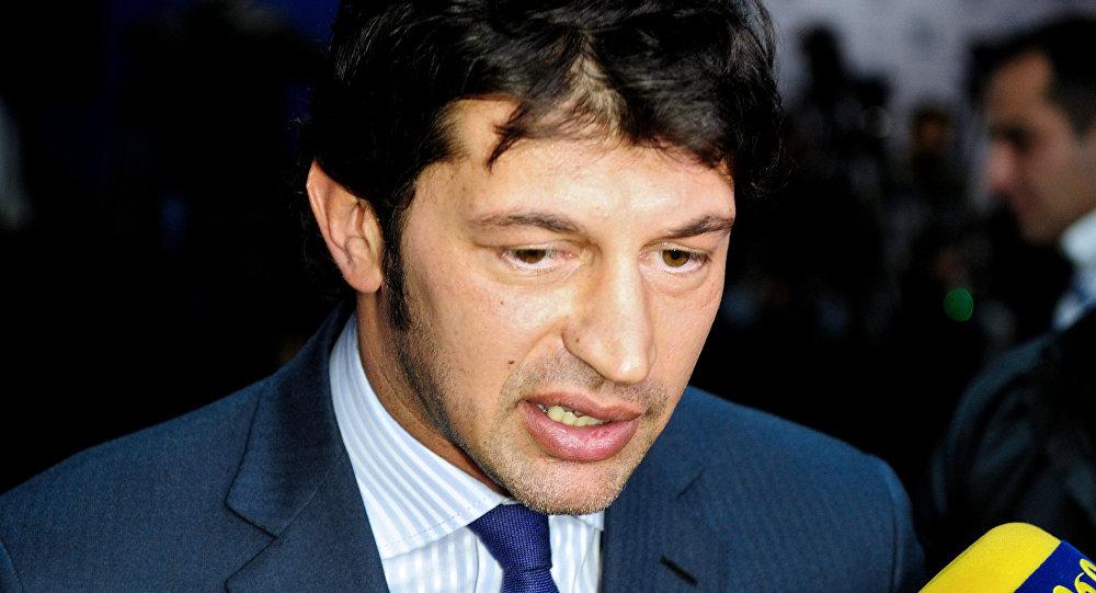 Вице-премьер Грузии, министр энергетики Каха Каладзе