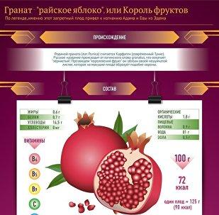 Король фруктов - гранат