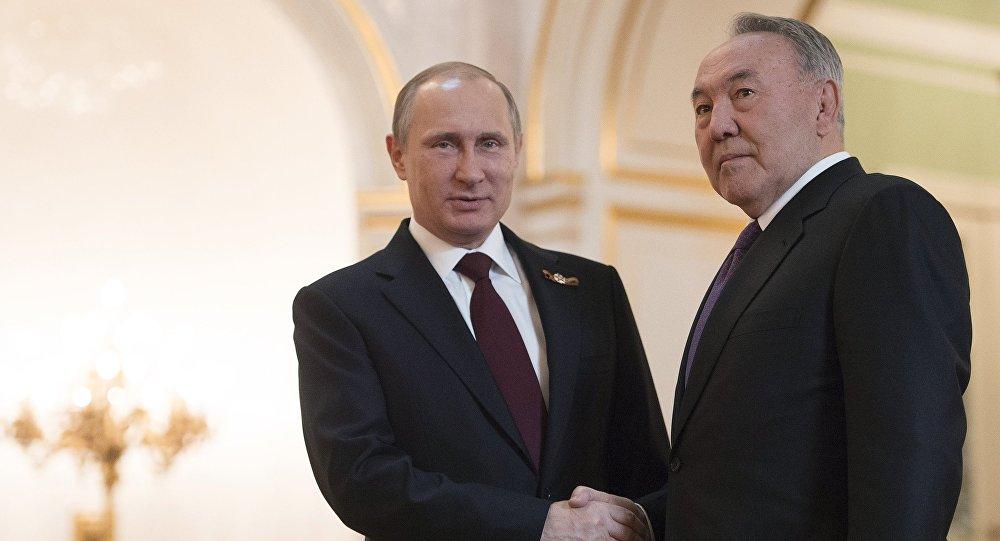 Назарбаев иПутин обсудили результаты совещания ОДКБ