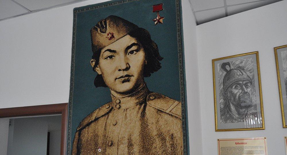Портрет Алии Молдагуловой. Автор – Марат Габдрахманов