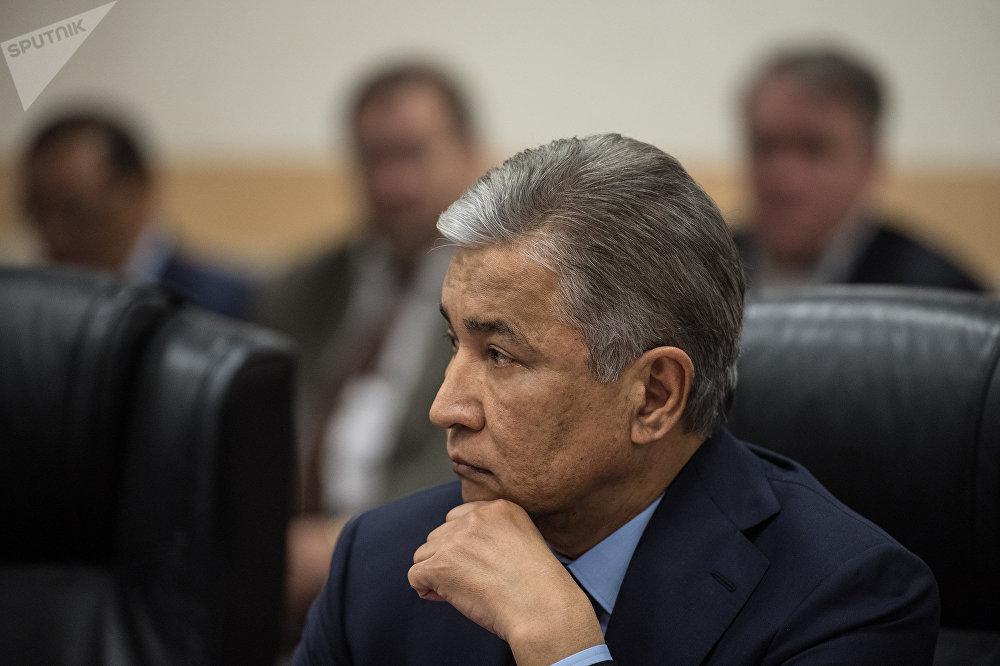 Чрезвычайный и Полномочный посол Республики Казахстан в РФ Имангали Тасмагамбетов