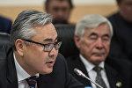 Заместитель министра иностранных дел Республики Казахстан Галымжан Койшыбаев