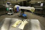 Гинекологическое оборудование в больнице, архивное фото