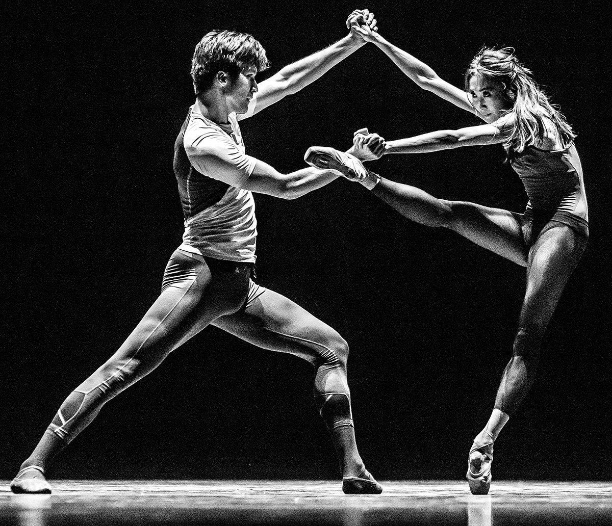 Артисты театра Astana Ballet